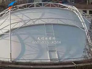 泰兴石化污水池膜结构