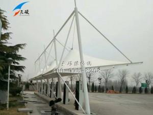 临沂兰陵服务区充电桩膜结构
