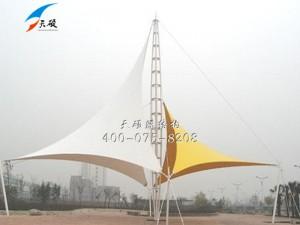 河北承德兴隆广场景观膜结构