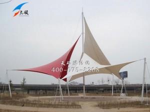滨州黄河大桥湿地公园景观膜结构