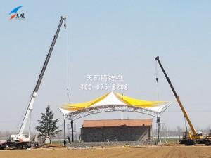 泰安长兴农业发展有限公司膜结构看台