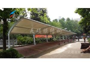 枫林苑小区膜结构停车棚