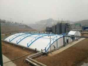 东营化工厂污水池加盖