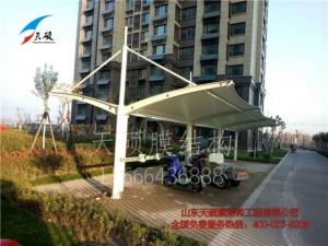 桓台百合园小区自行车棚
