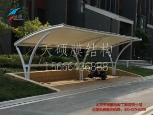 淄博桓台膜结构车棚