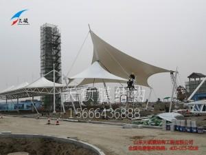 黄骅港旅游码头飞燕张拉膜景观