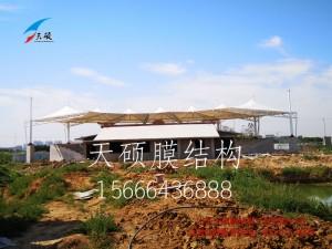 安徽阜阳临泉县魔幻之都膜结构看台