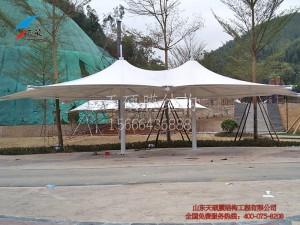 南宁高峰高峰森林公园膜结构伞